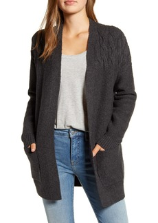 Lucky Brand Venice Cable Detail Cardigan
