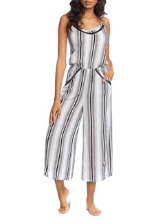 Lucky Brand Venice Vibes Jumpsuit Swim Cover-Up