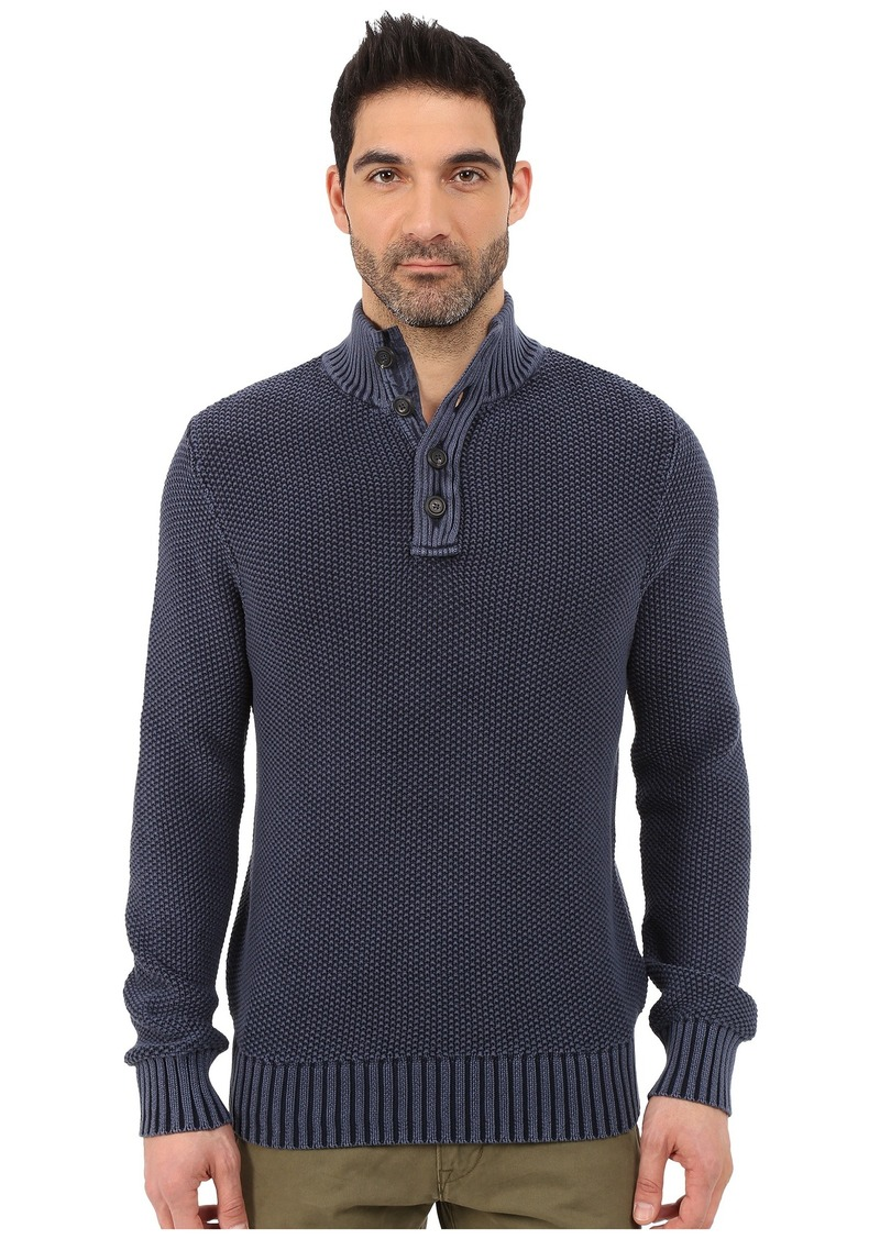 Lucky Brand Washed Out Mock Neck