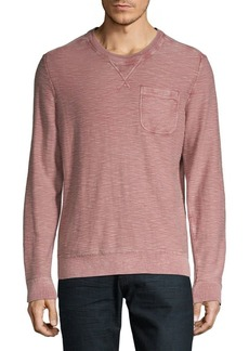 Lucky Brand Welter Weight Heathered Cotton Top