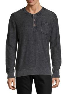 Lucky Brand Welter Weight Long-Sleeve Cotton Henley
