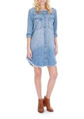 Lucky Brand West Cotton Denim Dress