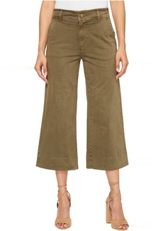 Lucky Brand Wide Leg Crop in Dark Olive
