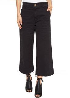 Lucky Brand Wide Leg Crop in Lucky Black