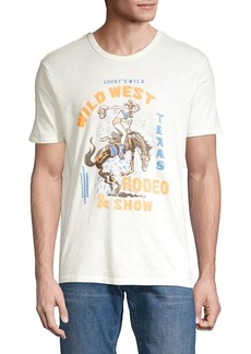 Lucky Brand Wild West Rodeo Graphic Tee