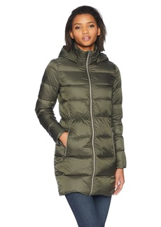 Lucky Brand Women's 3/4 Lightweight Packable Down Coat  SM
