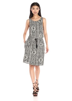 Lucky Brand Women's All Over Printed Dress