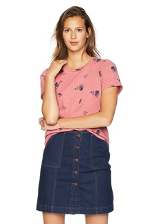 Lucky Brand Women's Allover Floral Print TEE  M