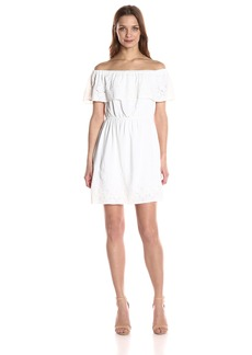 Lucky Brand Women's Amanda Schiffly Dress