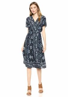 Lucky Brand Women's Ashley WRAP Dress  S