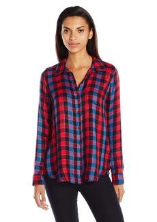 Lucky Brand Women's Back Overlay Shirt