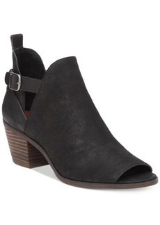 Lucky Brand Women's Banu Cutout Booties Women's Shoes