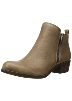 Lucky Brand Women's Basel Ankle Boot Brindle  Medium US