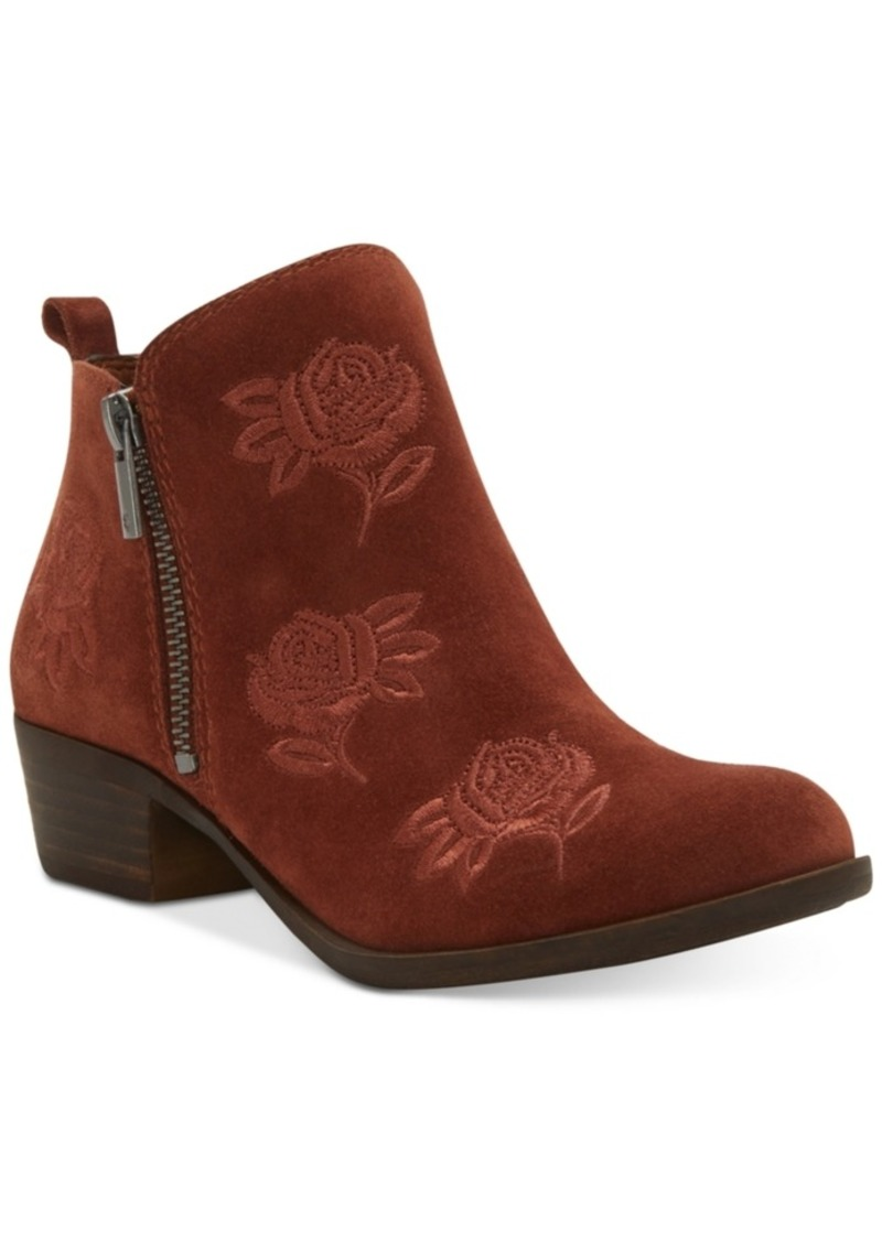 f2009c16c89 Women's Basel Embroidery Booties, Created for Macy's Women's Shoes