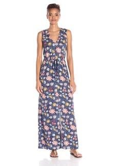Lucky Brand Women's Batik Floral Dress
