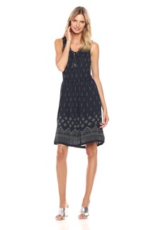 Lucky Brand Women's Beaded Tank Dress