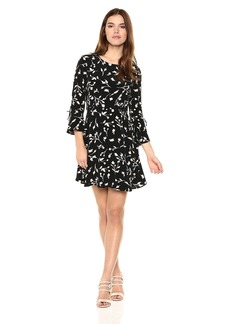 Lucky Brand Women's Bell Sleeve Dress