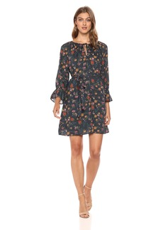 Lucky Brand Women's Bell Sleeve Dress  XL