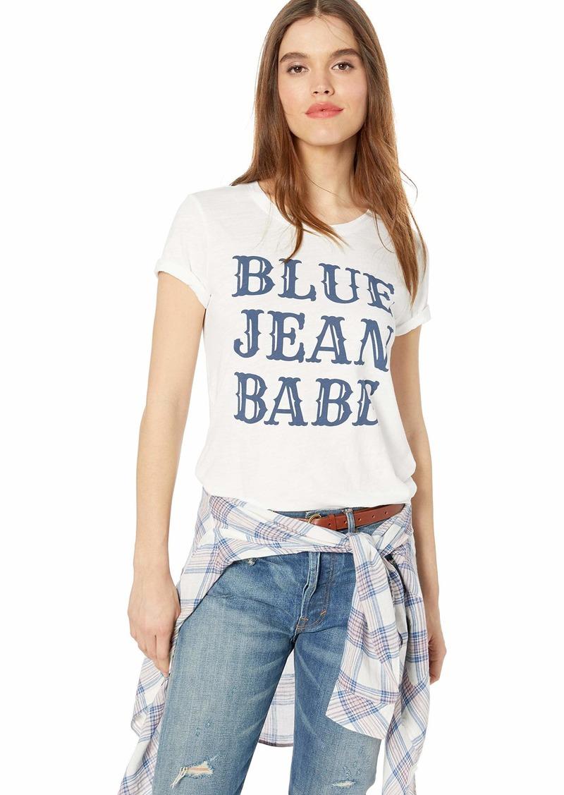 Lucky Brand Women's Blue Jean Babe TEE  XS