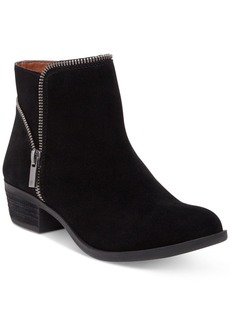 Lucky Brand Women's Boide Zipper Booties Women's Shoes