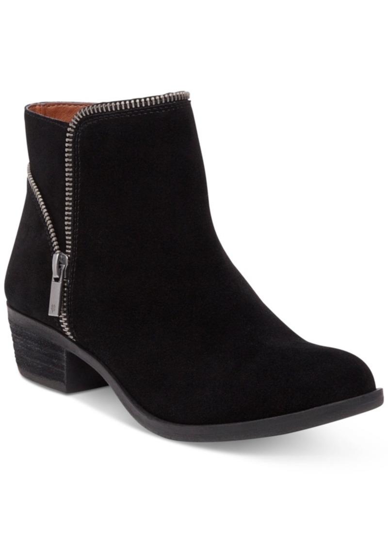 Lucky Brand Women's Boide Zipper Booties Women's Shoes