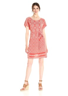 Lucky Brand Women's Border Tee Dress