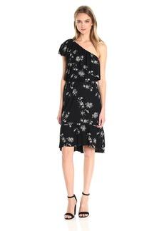 Lucky Brand Women's Botanical Ruffle Dress