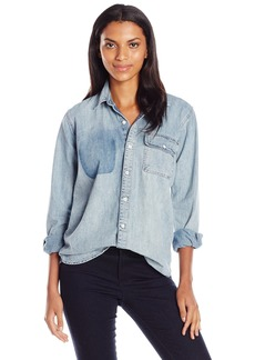 Lucky Brand Women's Boyfriend Shirt
