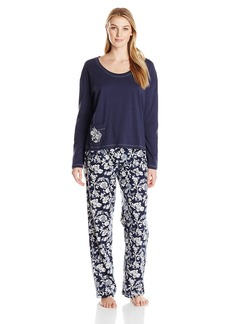 Lucky Brand Women's Brushed Flannel Pajama Gift Set