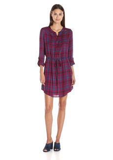 Lucky Brand Women's Bungalow Plaid Dress in