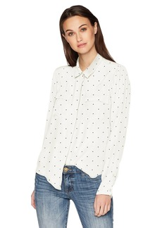 Lucky Brand Women's Button Down Shirt  L