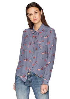 Lucky Brand Women's Button Down Shirt  XS