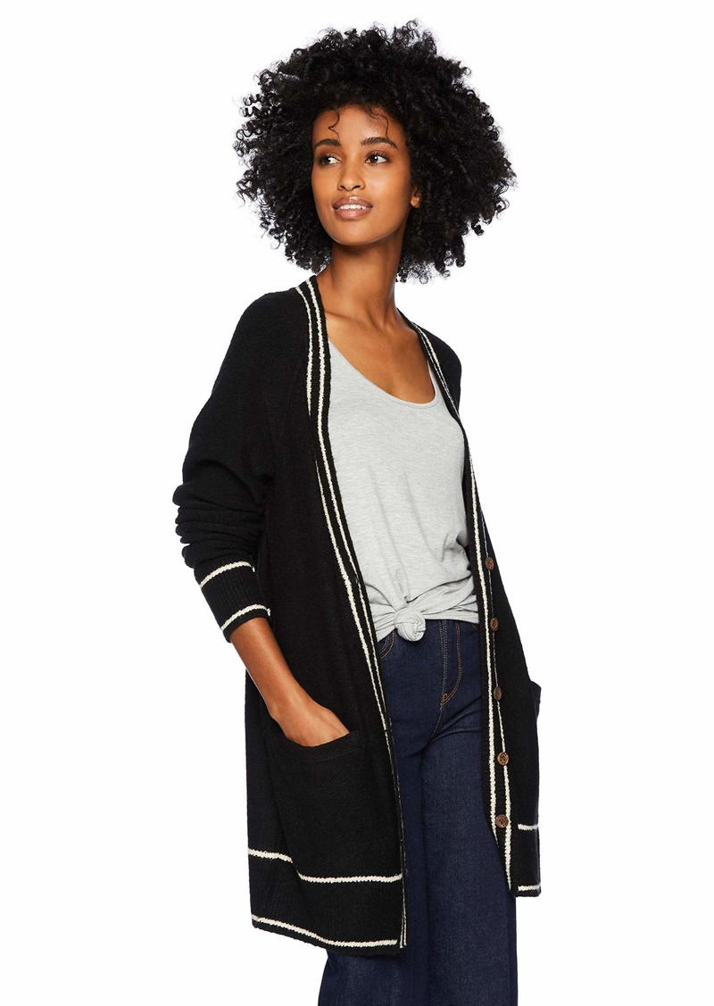 Lucky Brand Women's Button Front Cardigan Sweater  S