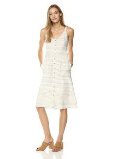 Lucky Brand Women's Button up Knit Dress  L