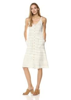 Lucky Brand Women's Button up Knit Dress  S