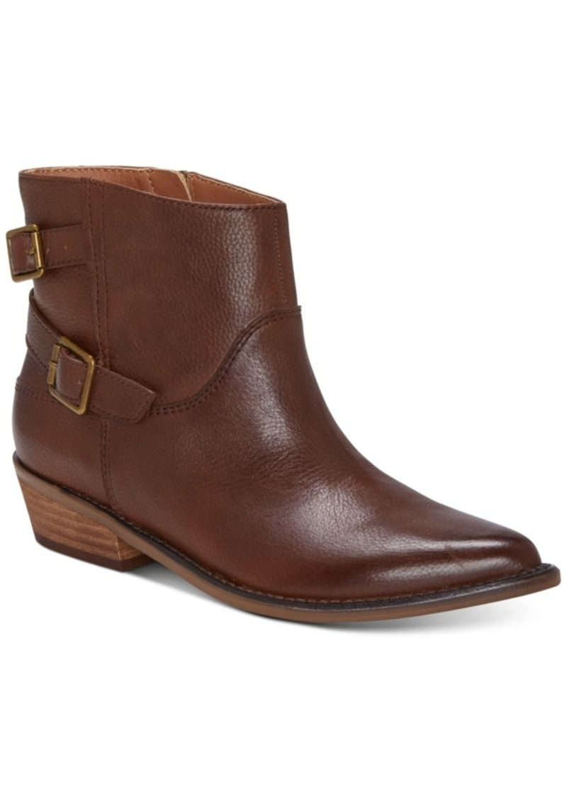 Lucky Brand Women's Caelyn Leather Booties Women's Shoes