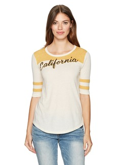 Lucky Brand Women's California Football Tee