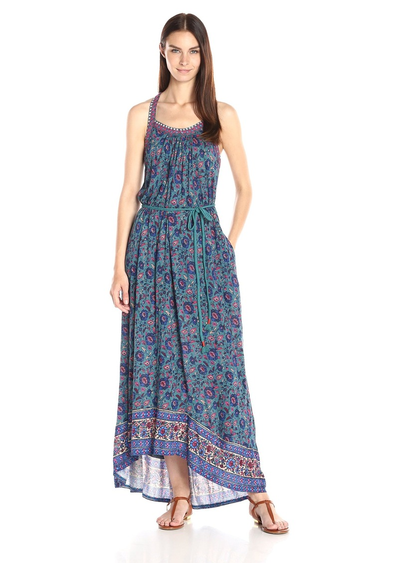 Lucky Brand Women's Circle Embroidered Dress