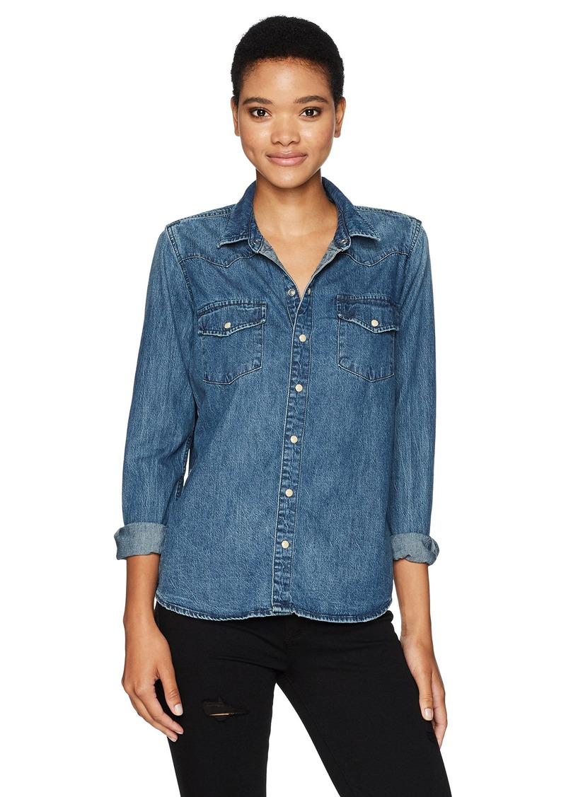 8df61aa764 Lucky Brand Lucky Brand Women s Classic Western Shirt