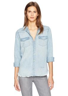 Lucky Brand Women's Classic Western Shirt