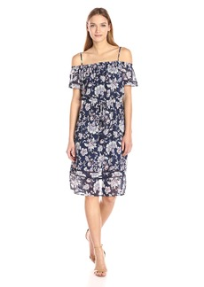 Lucky Brand Women's Cold Shoulder Dress