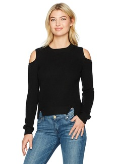 Lucky Brand Women's Cold Shoulder Pullover Sweater  L