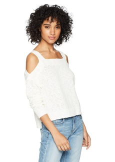 Lucky Brand Women's Cold Shoulder Sweater  XL