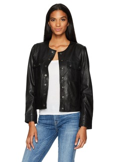Lucky Brand Women's Collarless Jacket
