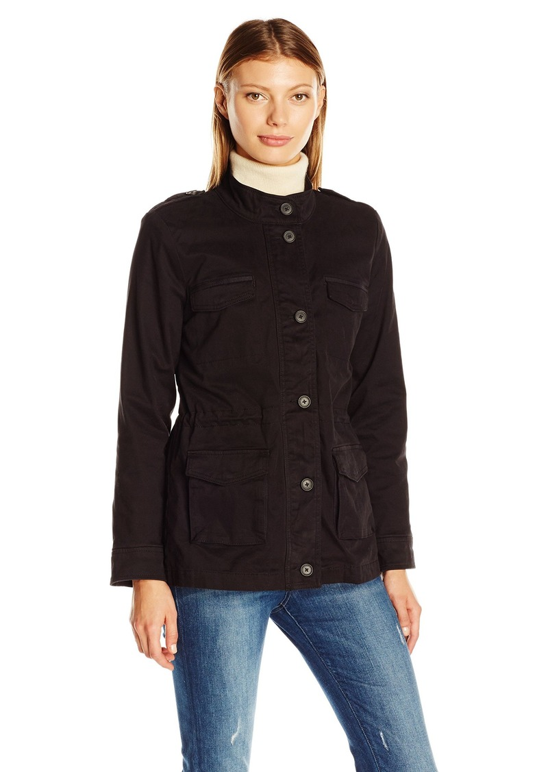 Lucky Brand Women's Core Military Jacket  Medium