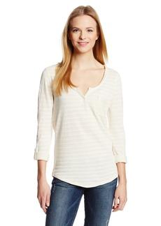 Lucky Brand Women's Costa Mesa Pocket Top