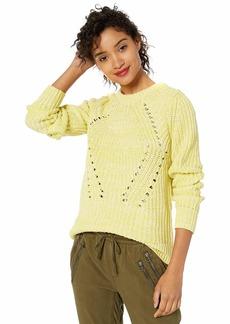Lucky Brand Women's Crew Neck Long Sleeve Sweater  XL