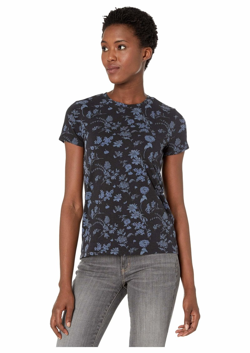 Lucky Brand Women's Crew Neck Printed Tee  L