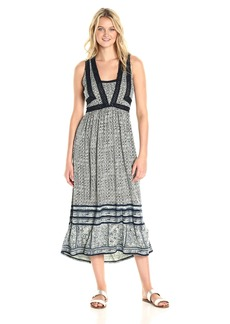 Lucky Brand Women's Crochet Knit Dress