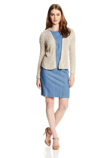 Lucky Brand Women's Cropped Sweater Jacket